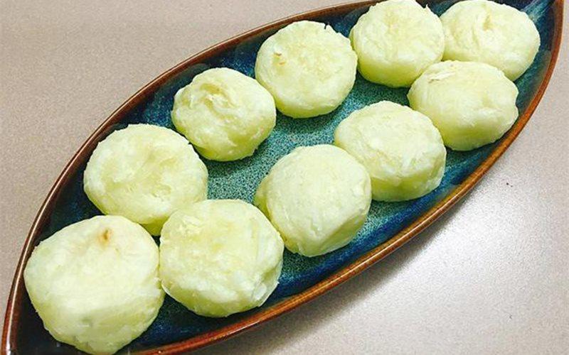 Cách làm Bánh sắn dừa nướng