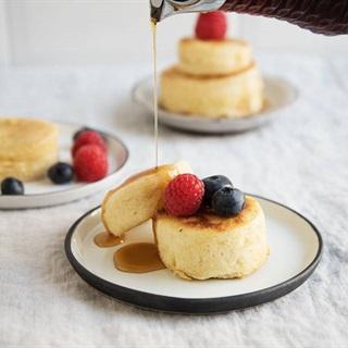Cách làm Bánh pancake kiểu Nhật
