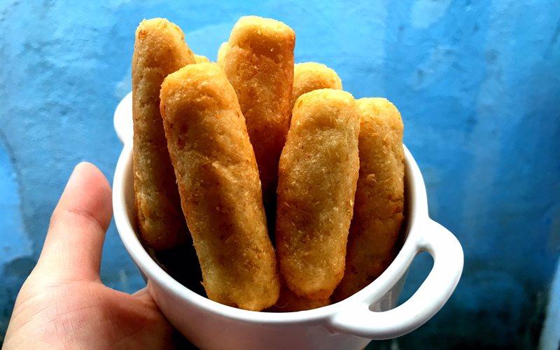 Cách làm Bánh khoai mì sả