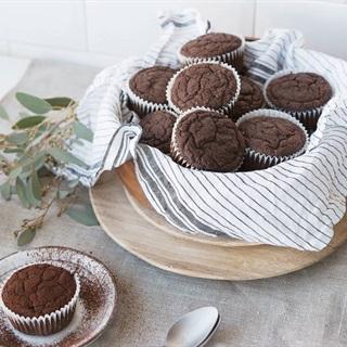 Cách làm Bánh muffin chocolate ăn kiêng