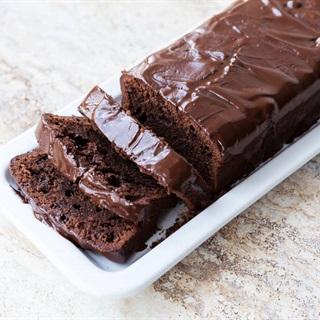 Cách làm Bánh bông lan chocolate - Chocolate loaf cake