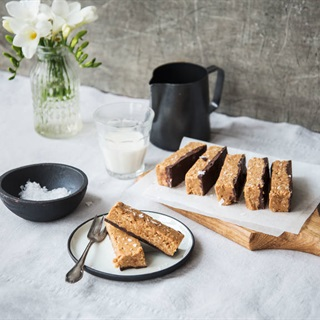 Cách làm Bánh bơ đậu phộng yến mạch