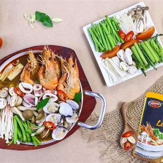 Cách nấu Lẩu Thái Hải Sản đơn giản nhanh gọn tại nhà