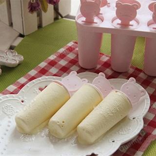 Cách làm kem que phô mai