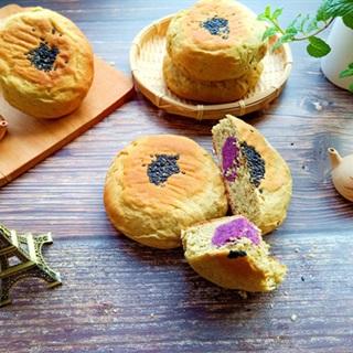 Cách làm bánh mì khoai lang tím Nhật Bản