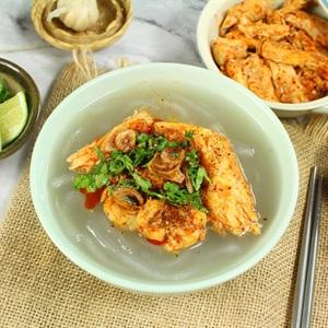 Bánh canh cá lóc miền Trung