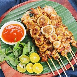 Cách làm Mực Nướng Malaysia