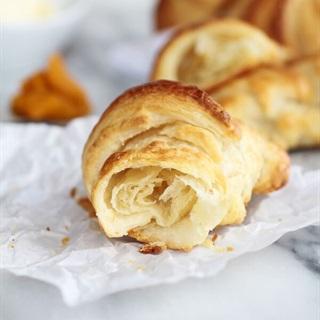 Cách làm Bánh sừng trâu croissant