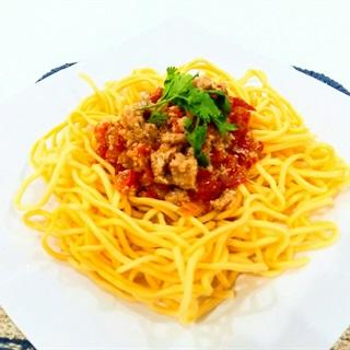 Cách làm Mì trứng sốt cà chua