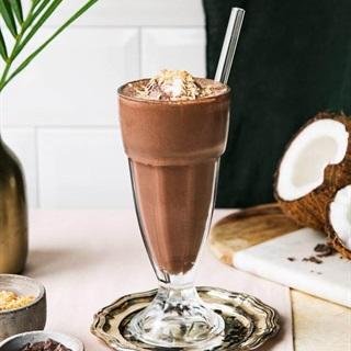 Cách làm Sữa lắc chocolate nước cốt dừa