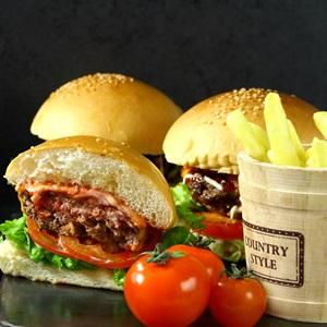 Burger thịt bò phô mai