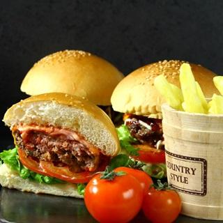 Cách làm Burger thịt bò phô mai