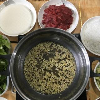 Cách làm Bò nhúng giấm mắm nêm
