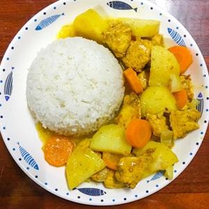 Cơm cà ri gà kiểu Ấn Độ