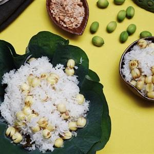 Xôi dừa hạt sen thanh thơm