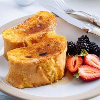 Cách làm Bánh Mì Nướng Trứng Sữa Kiểu Pháp đơn giản
