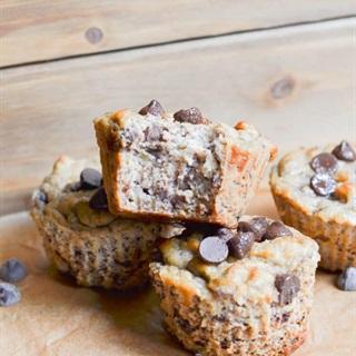 Cách làm Bánh Muffin Chuối Dừa bổ dưỡng cho người ăn chay