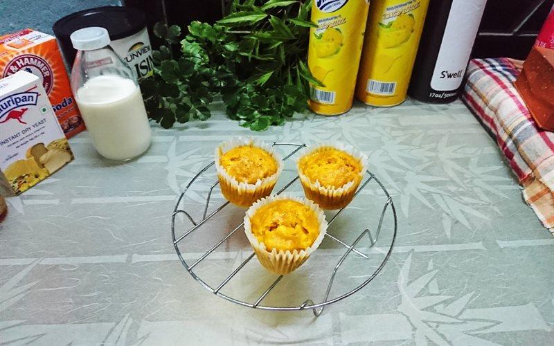 Cách làm Bánh Muffin Bí Đỏ Sữa Chua thơm ngon tại nhà