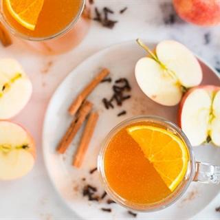Cách làm Nước Táo Quế Nóng - Hot Apple Cinder thải độc