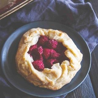 Cách làm Bánh Galette Mâm Xôi Mini thơm lừng hương vị Pháp
