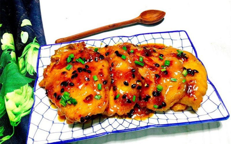 Cách làm Thịt Cốt Lên Ram sốt chanh dây chua mặn ngon ngon
