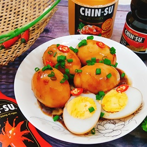 Trứng kho nước tương CHIN-SU