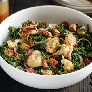 Cách làm Salad Bông Cải Sốt Tahini Miso giúp giảm cân