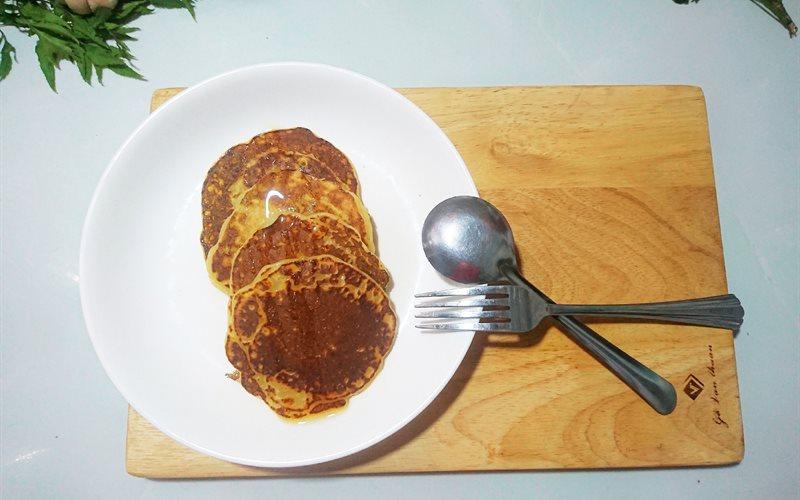 Cách làm Bánh Pancake Khoai tây Đơn Giản cho bữa sáng