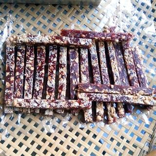 Cách làm Kẹo Chuối Dừa gừng ngọt lịm mềm dẻo ngày Tết