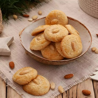 Cách làm Bánh Hạnh Nhân Kiểu Trung Quốc thơm giòn