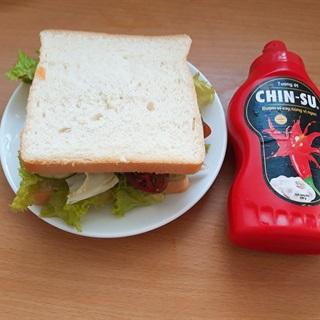 Cách làm Sandwich Kẹp Chay cho buổi sáng bận rộn