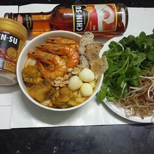 Mì Quảng tôm gà hạt nêm tôm CHIN-SU