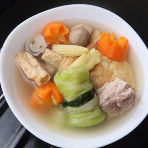 Canh sườn rau củ Phú Yên cho ngày Tết