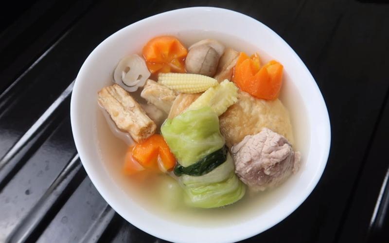 Cách nấu Canh Sườn Rau Củ Phú Yên dinh dưỡng cho ngày Tết