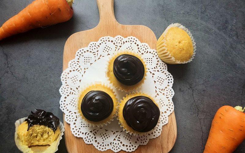 Cách làm Bánh Cupcake Cà Rốt Kiểu Brazil đơn giản tại nhà