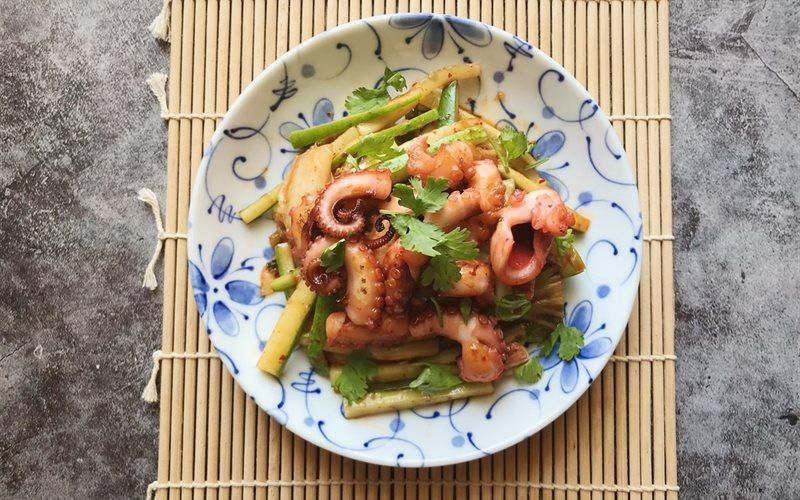 Cách làm Nộm Bạch Tuộc Kimchi thơm ngon đơn giản tại nhà