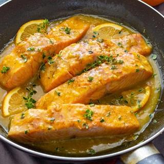 Cách chế biến cá hồi sốt cam bổ dưỡng cho mẹ bầu - ảnh 3