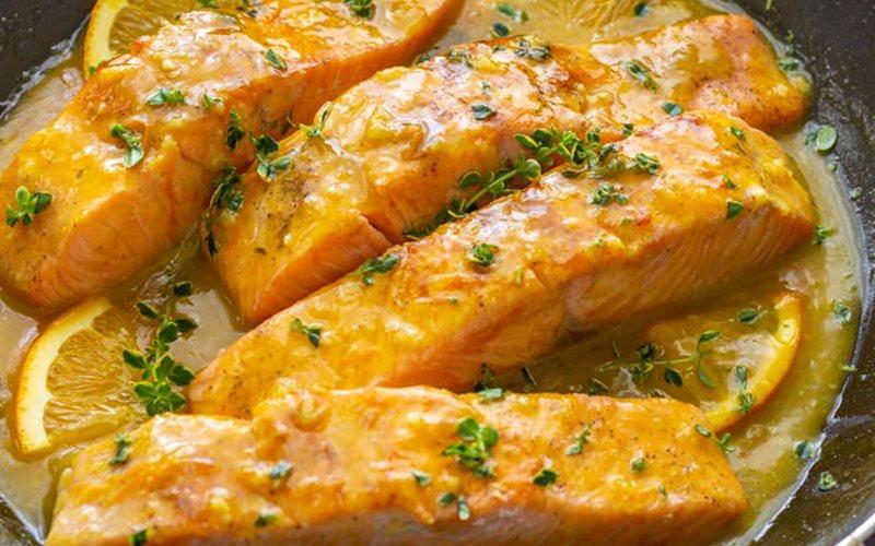 Cách làm Cá Hồi Sốt Cam đơn giản bổ dưỡng cho cả nhà