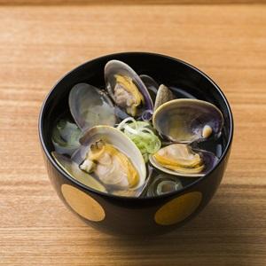 Canh ngao Hokkaido- Asari clams clear soup