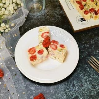 Cách làm Kẹo Nougat Hạnh Nhân dâu tây, cực thơm ngon
