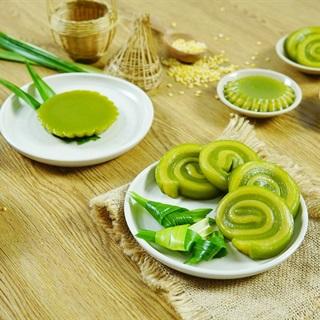 Cách làm Bánh Da Lợn lá dứa đậu xanh thơm nồng tại nhà