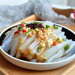 Cách làm Salad Thạch Đậu Xanh lạ miệng, cực thơm ngon