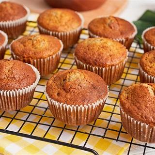 Cách làm Bánh Muffins Chuối ngọt dịu nhẹ xốp mềm cực ngon