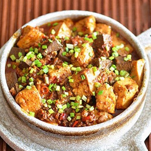 Đậu hũ sốt cay Tứ Xuyên - Mapo Tofu