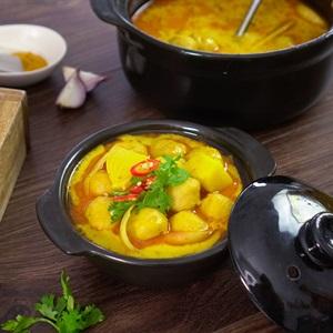 Cá viên cà ri - Curry Fish Balls