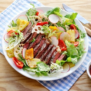 Cách làm Salad Ăn Kèm Bò Bít Tết đơn giản mà siêu ngon