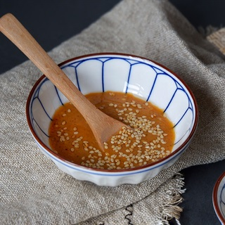 Cách làm Sốt Mù Tạt Trộn Salad Kiểu Nhật từ tương đậu nành