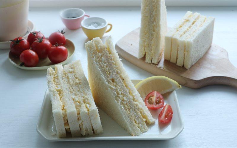 Cách làm Sandwich Trứng Mayo tiện lợi cho buổi sáng