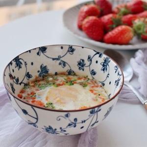 Trứng đúc rau củ