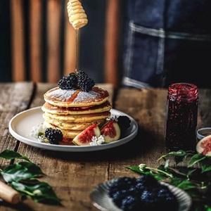 Bánh pancake mật ong
